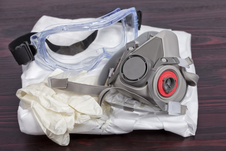 personal protective equipment for professional painters