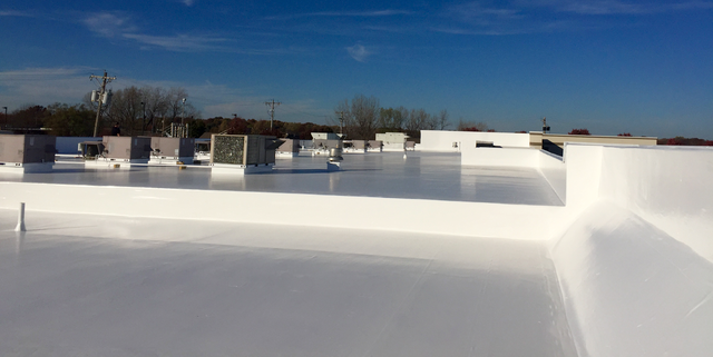 Retail Center Receives Roof Restoration