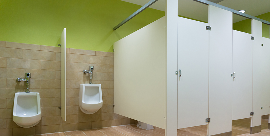 Matching Bathroom With Office Space