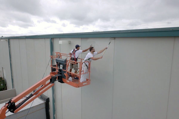 warehouse commercial painting for overland park ks